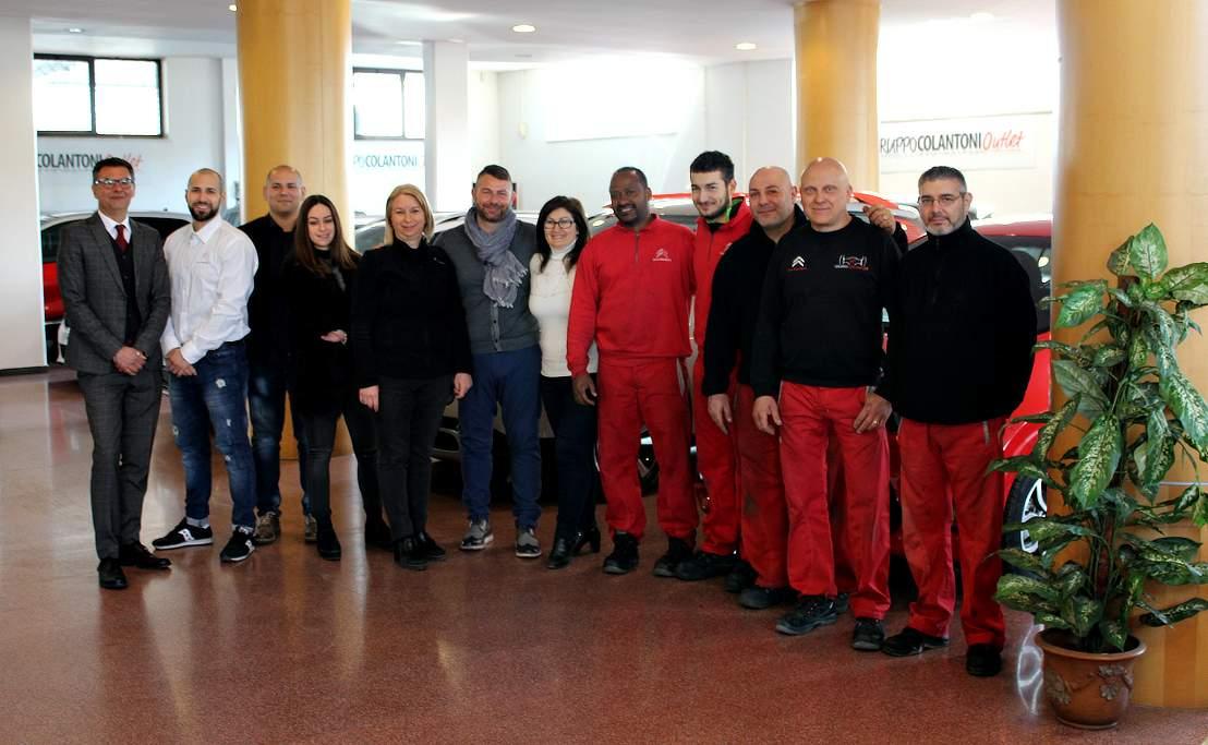 Gruppo Colantoni Fiumicino: lo staff