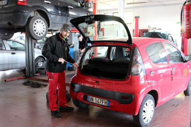 Riparazione autovetture Fiumicino